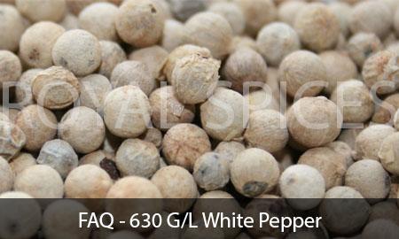 FAQ – 630 G/L White Pepper